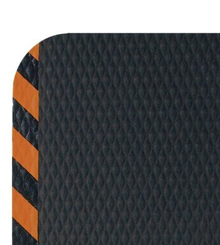 "Andersen 423 Nitrile Rubber Hog Heaven Anti-Fatigue Mat with Orange Striped Border, 3' Length x 2' Width x 5/8"" Thick, For Wet/Dry Areas by Andersen. $50.94. Exceptional Anti-Fatigue matting. HogHeaven mats are constructed of solid Nitrile rubber surface with a closed-cell Nitrile/PVC cushion backing. This surface offers better chemical resistance along with textured surface for superior slip resistance. Ideal for any anti-fatigue area. Hog Heaven mats are welding safe a..."