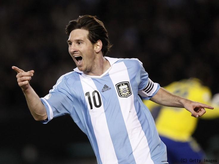 Leo Messi, gol contra Ecuador, Eliminatorias Brasil 2014.