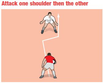 Better Rugby Coaching   A forward step to the side   rugby   coach   coaching  