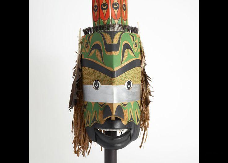 Art Thompson (1948-2003), Mask Representing Thunderbird in Human Form, 1989,