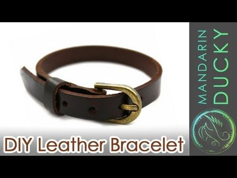 You Won't Believe this Awesome DIY Leather Bracelet Was Made from Old Shoes - DIY Joy