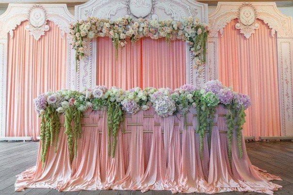 Оформление свадебного зала, оформление выездной регистрации, все для оформления свадебного торжества от арт-студии Праздничный Город.