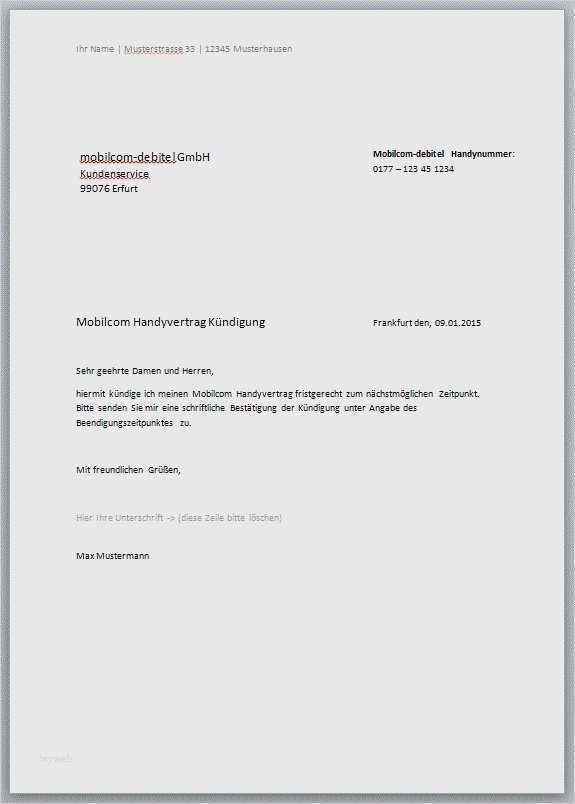 32 Bewundernswert Kundigung Mobilfunkvertrag Debitel Vorlage Abbildung In 2020 Handyvertrag Vorlagen Lebenslauf Vorlagen Word