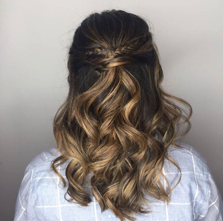 ideas about Loose curls updo on Pinterest - Loose curly updo, Loose ...