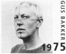 Profile ornament worn by Emmy van Leersum, 1975 - Gijs Bakker