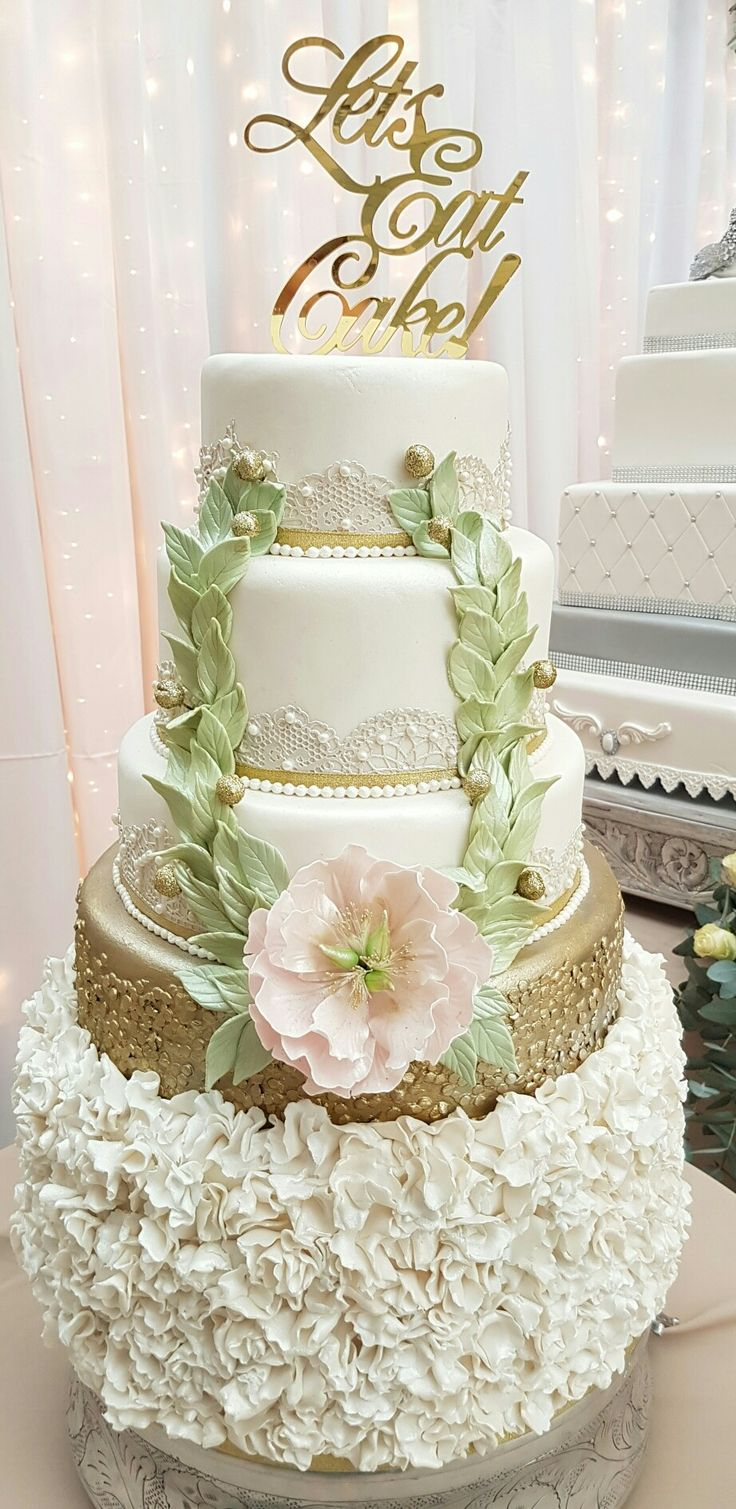 The 43 best Wedding cakes by Helens Cake Craft images on Pinterest ...
