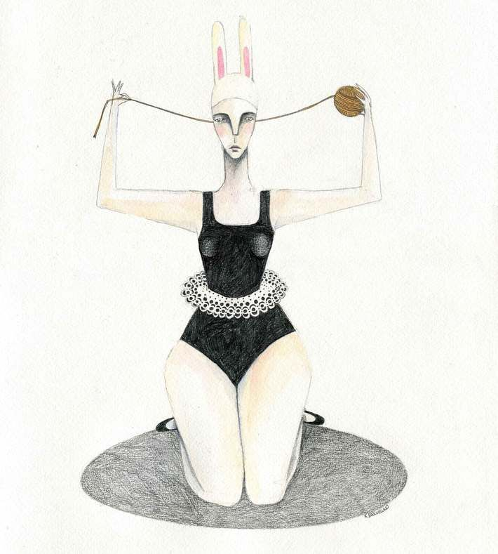 The illustration is from 2013. You can buy this original piece at www.artrebels.com #artrebels #art #limitededition