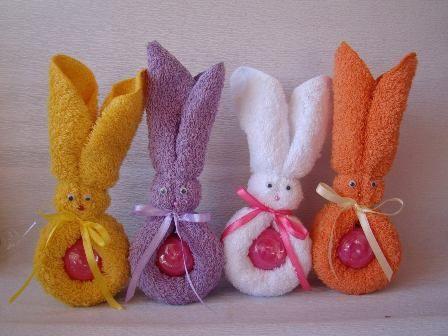 cmo hacer conejos con toallas