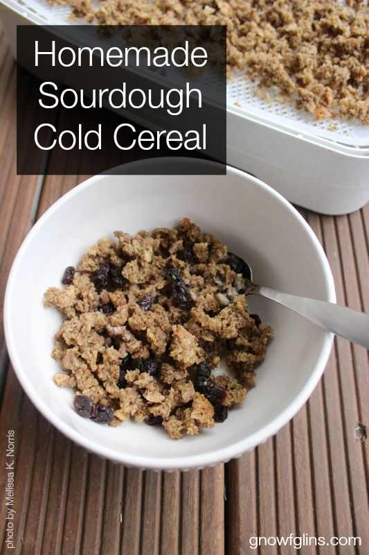 Homemade Sourdough Cold Cereal | It's been fun to tackle the cereal challenge over the years, discovering everyone's preferences and searchi...