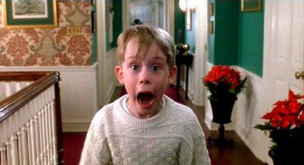 Check-Out Woman: Are you here all by yourself?   Kevin McCallister: Ma'am, I'm eight years old. You think I would be here *alone*? I don't think so.