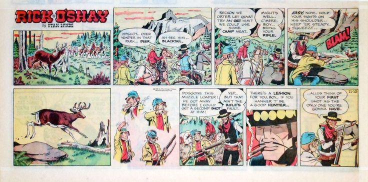 Comic strip rick