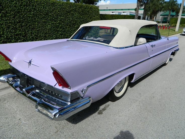 1957 Lincoln Premiere Convertible (With images) Lincoln