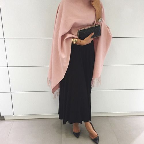 fashion, hijab, and black image