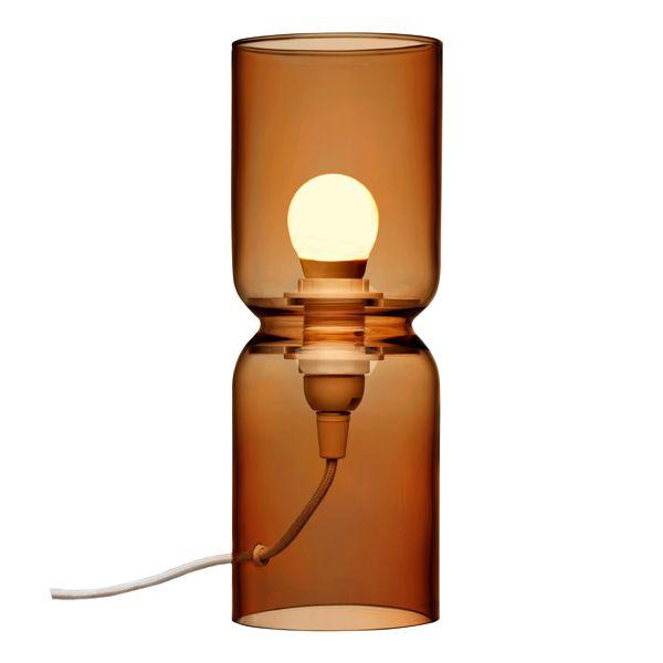 Copper Lantern lamp 250 mm by Iittala.
