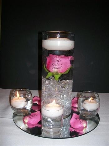 submerged rose centerpiece
