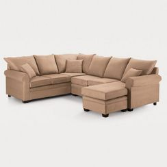 'Saunders Ii' 3-Piece Queen-Size Sofa Bed Sectional
