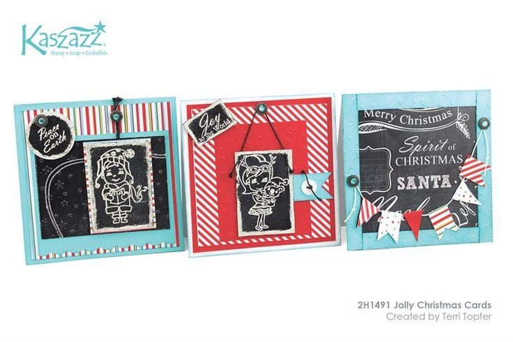 2H1491 Jolly Christmas Cards