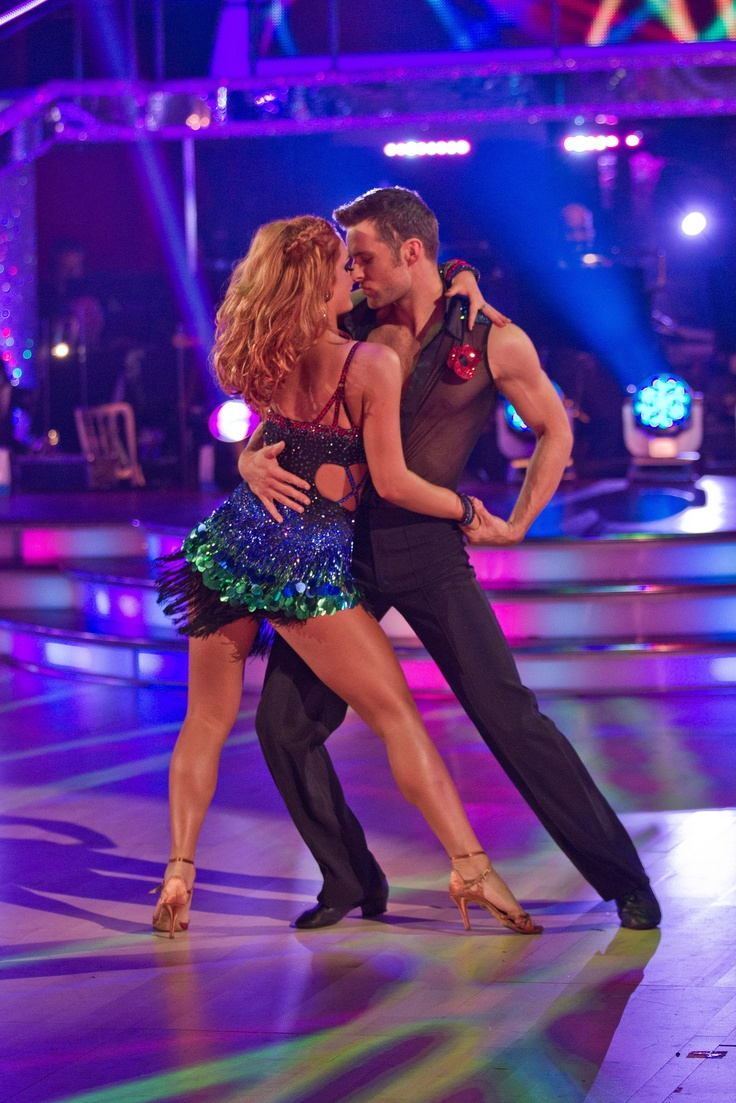Strictly Come Dancing 2012. Winner Harry Judd with professional partner Aliona