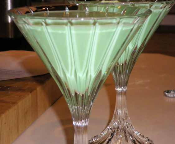 Make and share this Grasshopper Drink recipe from Food.com.