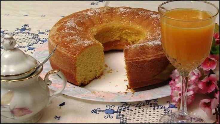 Aprende a realizar un delicioso bizcocho de naranja, ¡es perfecto también para personas con diabetes!