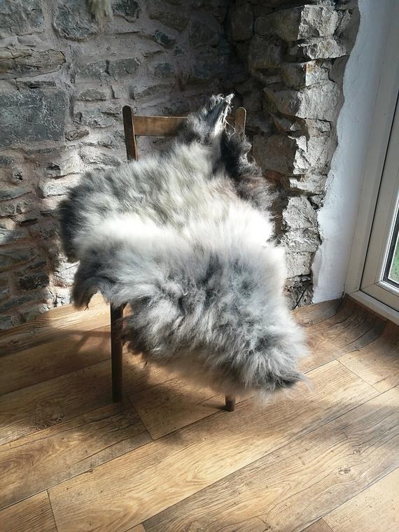 Sheepskin Rug 105 Cm Long Rare Breed