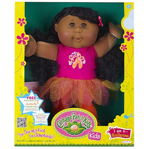 Cabbage Patch Kids Toddler Doll African American Girl - Brunette - Ballet  - Jakks Pacific 1001196 -  Baby Dolls - FAO Schwarz®