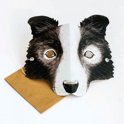 The perfect mask to frolic in the park with!  Write your message on the back of the mask in the space provided. Then the person who receives it can wear it!
