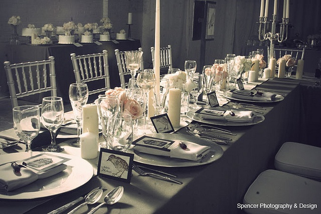 Reception Table Layout by donielle81, via Flickr