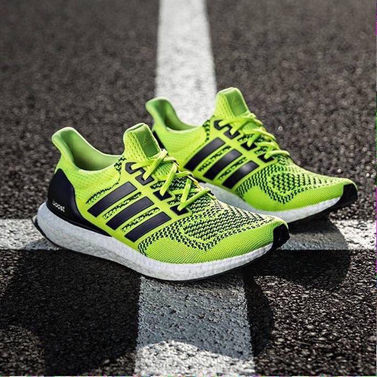 Adidas Ultra Boost Yellow Mens