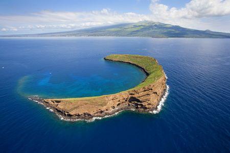 Maui Molokini island