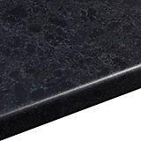 38mm B&Q Midnight Granite Satin Round Edge Kitchen Worktop (L)3m (D)600mm | Departments | DIY at B&Q