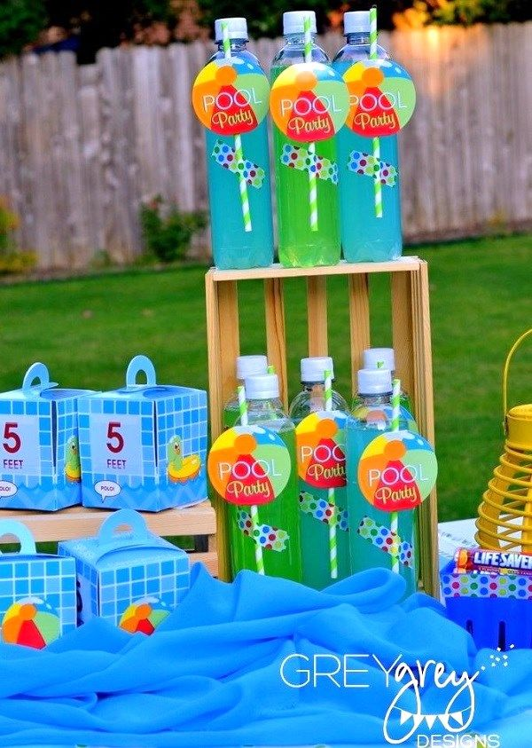 Pool Party Ideas {Guest Feature} — Celebrations at Home