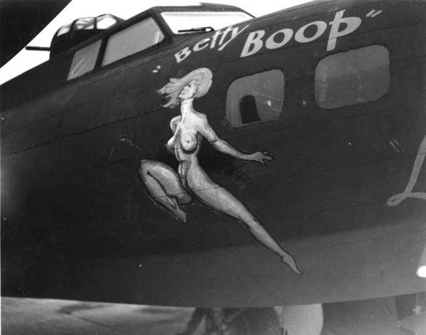 Betty boop :: B-17 Flying FortressArt Pin, Aircraft Pin, Aircraft Nose, Fly Fortress, Betty Boop, Noseart, Aircraft Art, Airplanes Nose, Ww2Nose Art