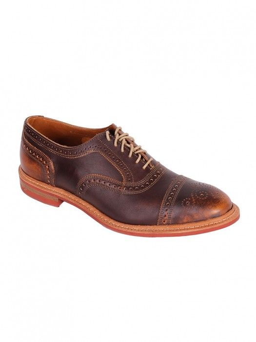 Allen Edmonds Strandmok Oxfords in Brown