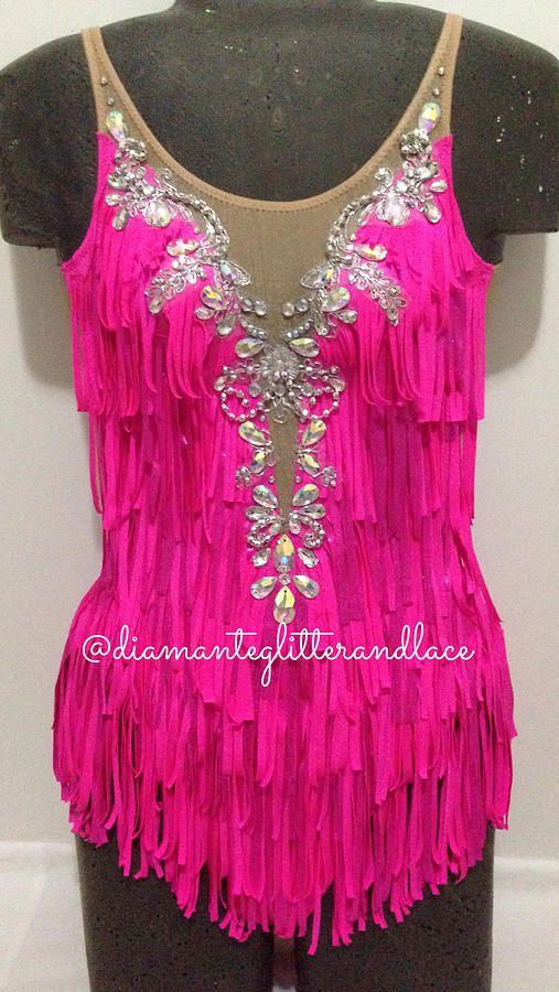 Diamante, Glitter & Lace: Leotard design blog | Shake It Out