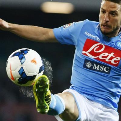 Naples assure sa 3e place avec Dries Mertens