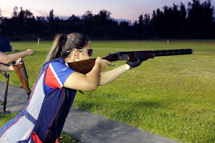 Teens at Florida shooting club defend gun ownership
