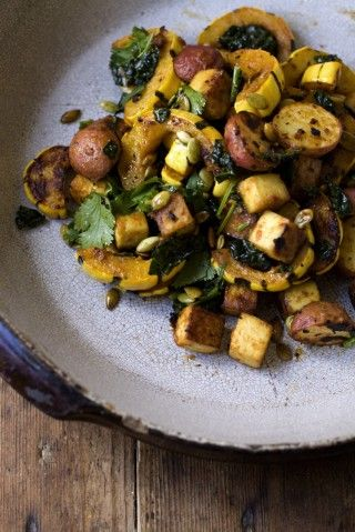 Miso curry delicata squash | Mains - to Try | Pinterest