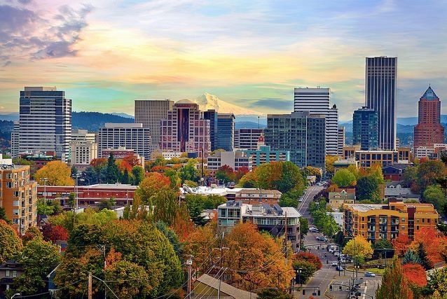 Portland Oregon. See you in may!