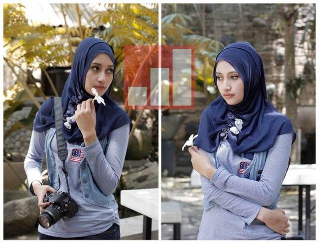 fotografi model hijab