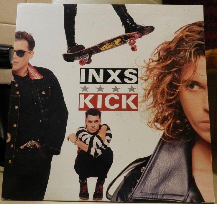 INXS Kick Vinyl Record