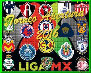 Blog de palma2mex : Liga MX Apertura 2016 Juegos y Resultados