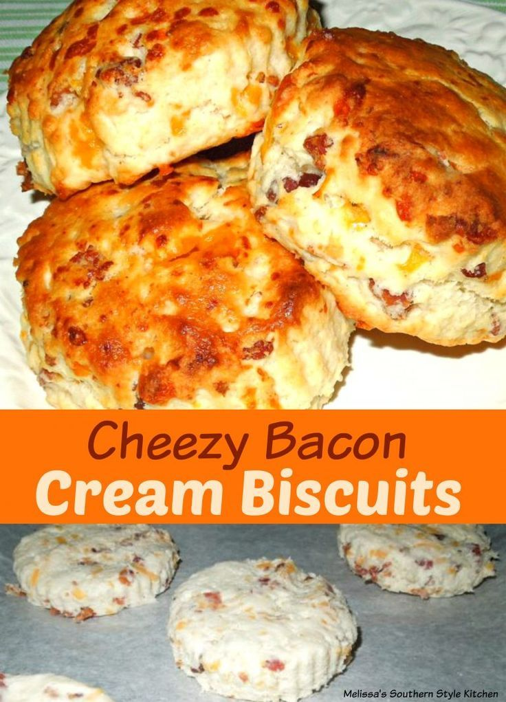 Cheezy Bacon Cream Biscuits