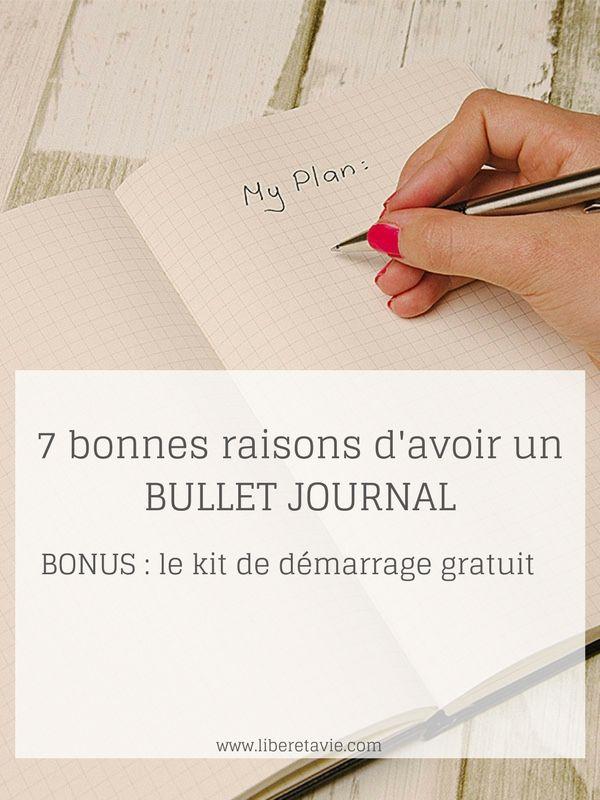 Le Bullet Journal est un système d'organisation venu des Etats-Unis. Il permet de gérer son quotidien et aussi de suivre ses objectifs à plus long terme