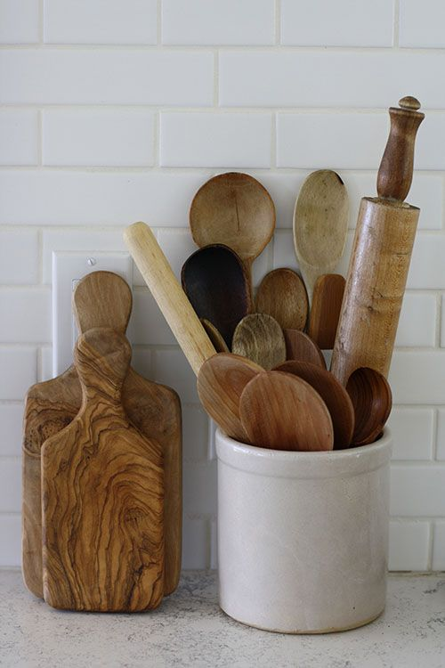 taking care of wooden utensils | @Carolyn Christina Jolley