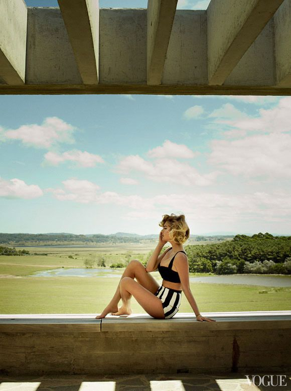kate upton forvogue | via a house in the hills