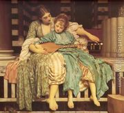 The Music Lesson  by Lord Frederick Leighton