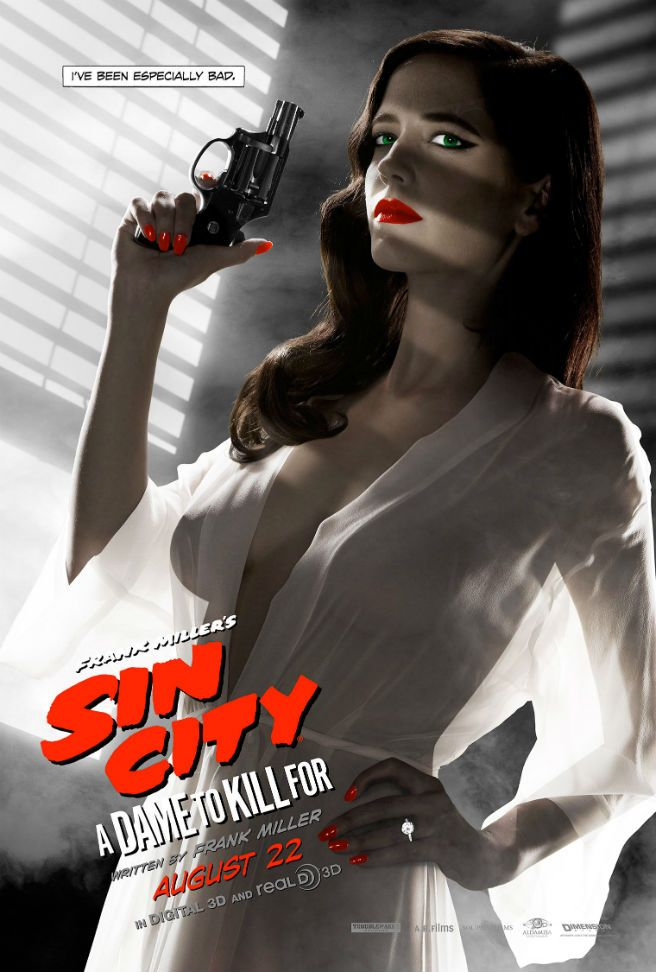 Check out the sexy Eva Green Sin City 2 poster banned by the MPAA - Movie News | JoBlo.com