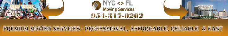 New York To Florida Movers – Long Distance Moving Company | Request FREE Quote