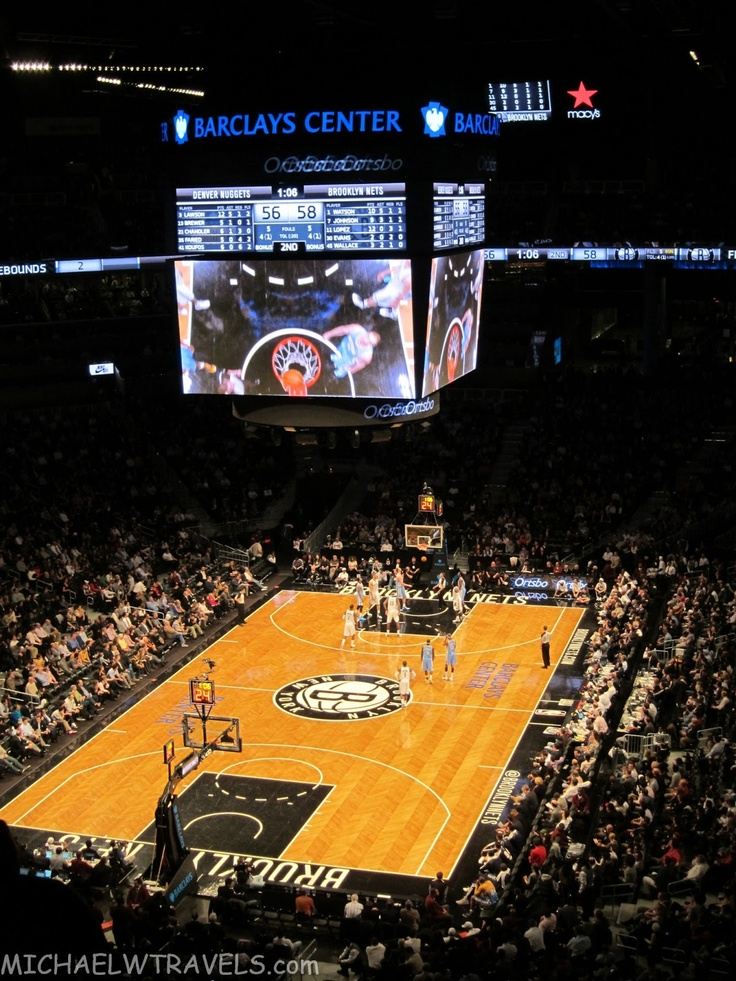 MichaelW Travels...: A Visit to the Barclays Center: Home of the Brooklyn Nets